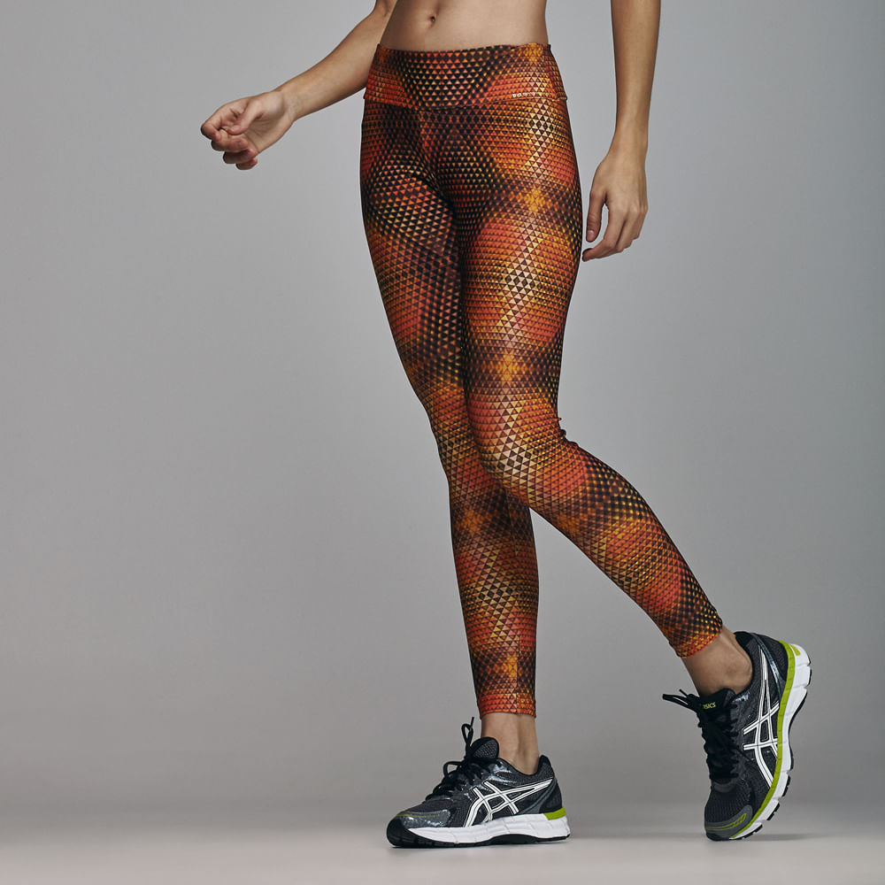 Calca-Legging-Fitness-Basic-Fit-Body-Show-Cos-Anatomico-Prints-Laranja