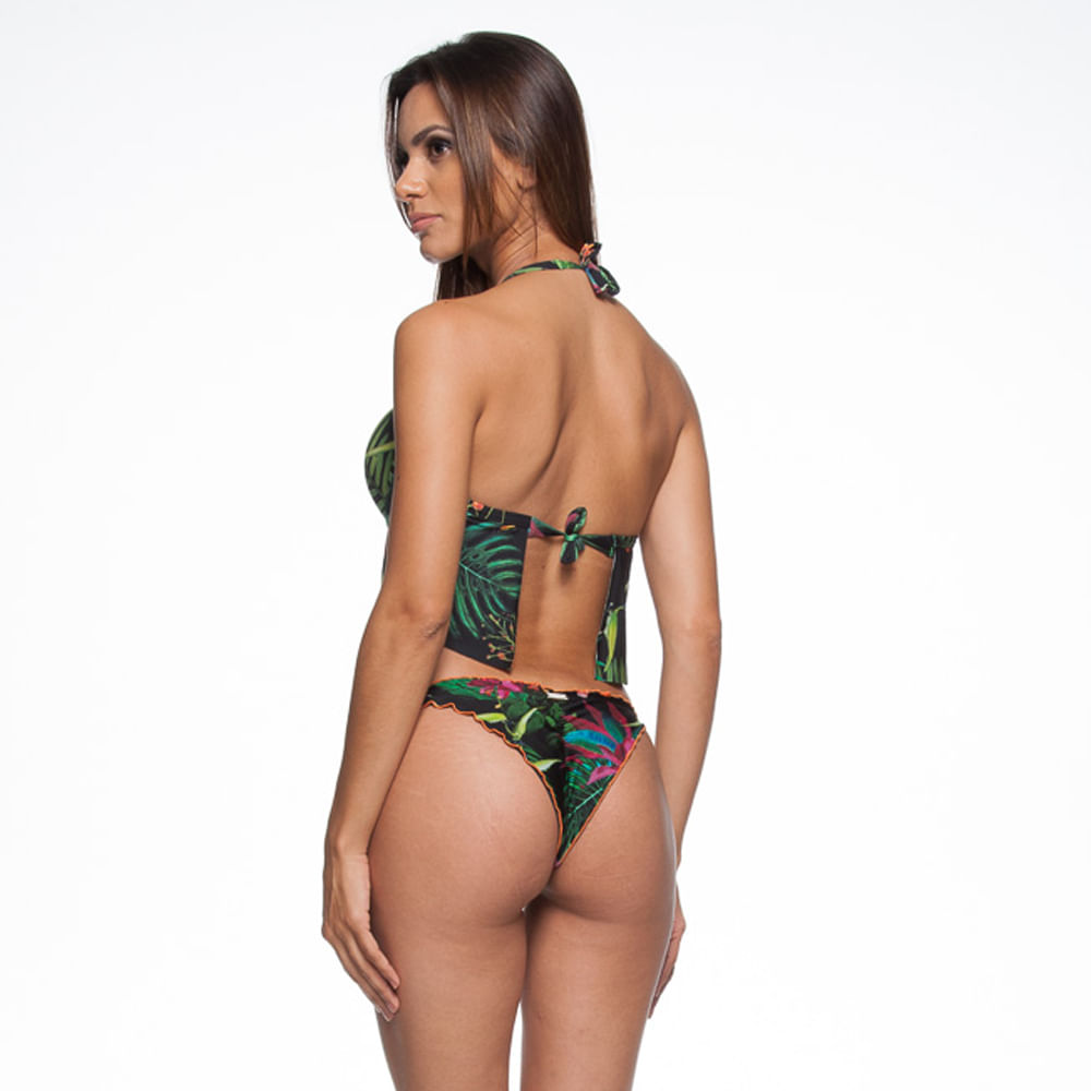 Calcinha-3-Costuras-Ripple-Coracao-La-Playa-Flamboyant-Preto