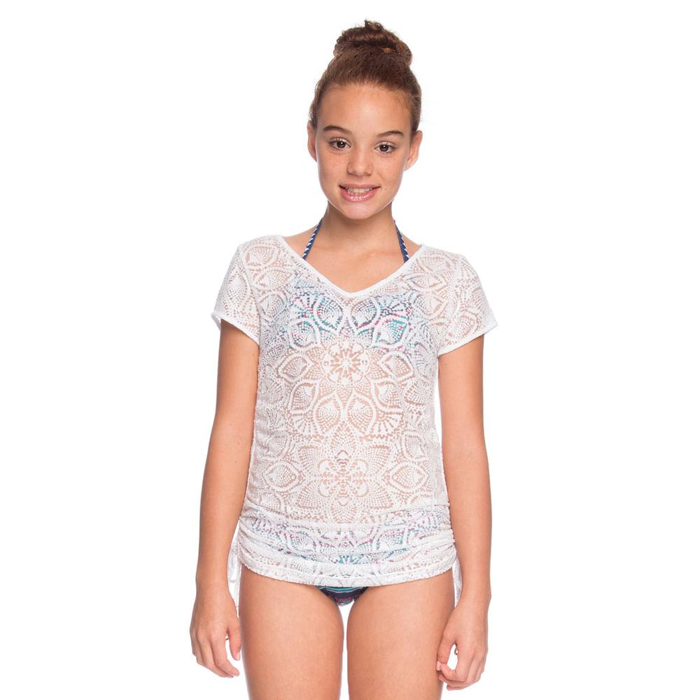 Saida-de-Praia-Camiseta-Regulagem-La-Playa-Branco