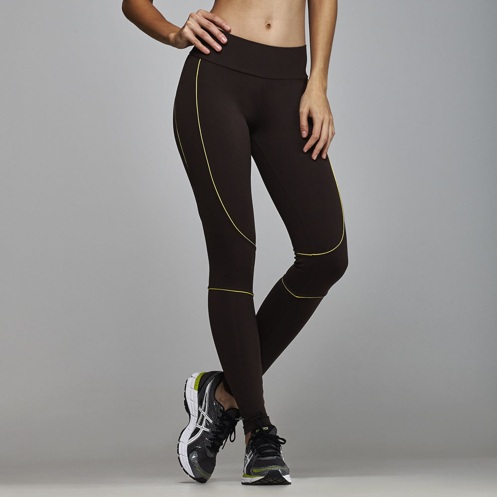 Calca-Legging-Basic-Fitness-Body-Show-Recortes-Color-Marrom