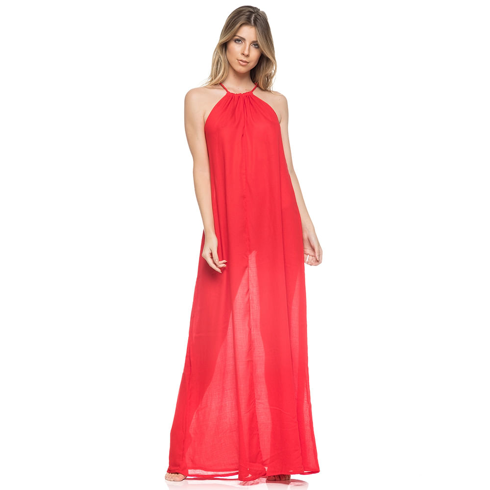 46a721229 Saída Vestido Longo Chanel - Meu Biquini