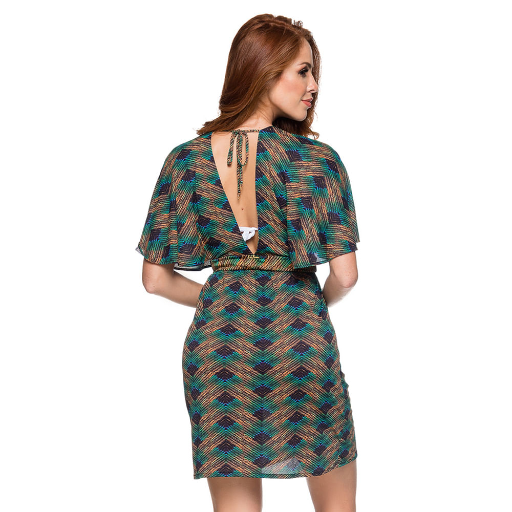 Saida-Caftan-Vestido-Decote-Metallic-Essencial-Saidas-Lua-Morena-2019